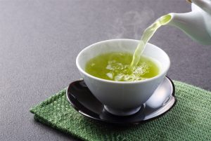 tasse thé vert
