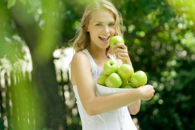 Pourquoi manger des pommes