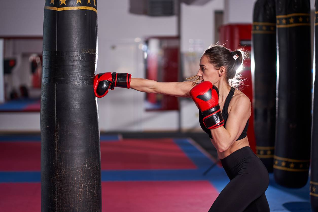 sac de frappe sport de combat