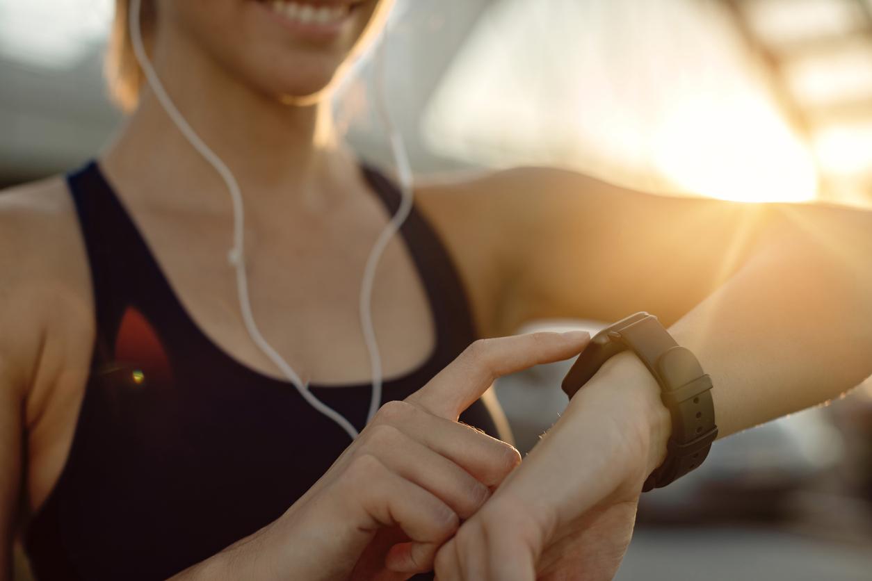 bracelet d'activité fitness tracker