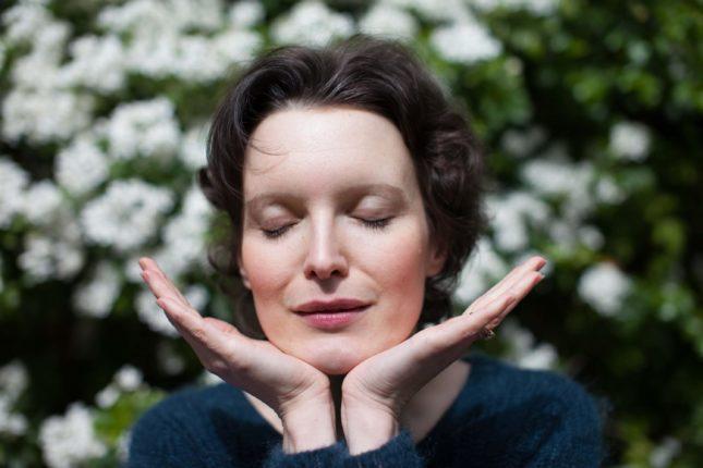 yoga visage